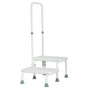 Лестница для ванной с опорой Мед-Мос Sh-1