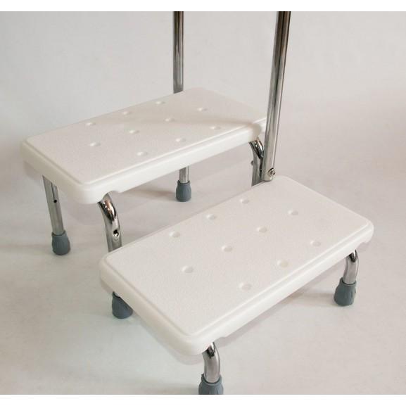 Поручень с 2-мя ступенями для ванной комнаты Мега-Оптим Fs 569 - фото №3