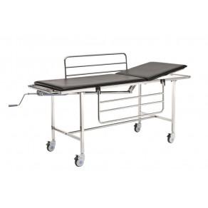 Тележка-каталка механическая для транспортировки пациентов Медицинофф E-2(p)
