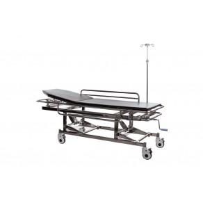 Тележка-каталка механическая для транспортировки пациентов Медицинофф E-5