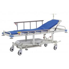 Тележка-каталка гидравлическая для транспортировки пациентов Медицинофф E-3(k)
