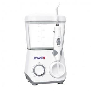 Ирригатор для полости рта модель B.Well WI-933 с принадлежностями стационарный, с аккумулятором, 8 насадок