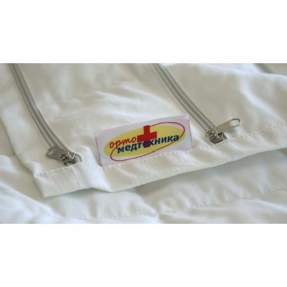 Утяжеленное одеяло с фиксированным весом, наполнитель лузга гречихи ОртоМедтехника - фото №4