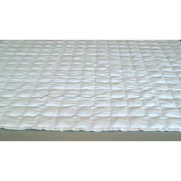 Утяжеленное одеяло с фиксированным весом, наполнитель лузга гречихи ОртоМедтехника - фото №2