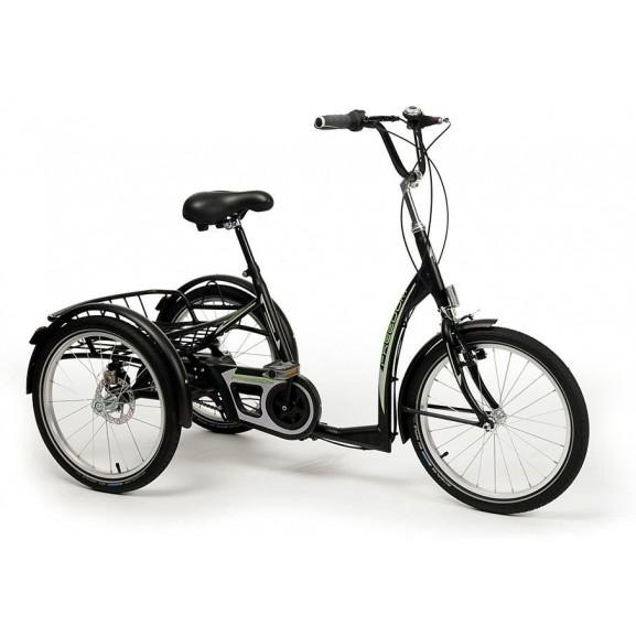 Трехколесный велосипед для взрослых и молодежи в стиле ретро Vermeiren Freedom - фото №1