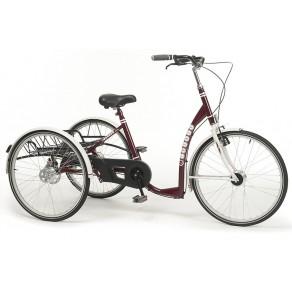 Трехколесный велосипед для взрослых и молодежи в стиле ретро Vermeiren Liberty