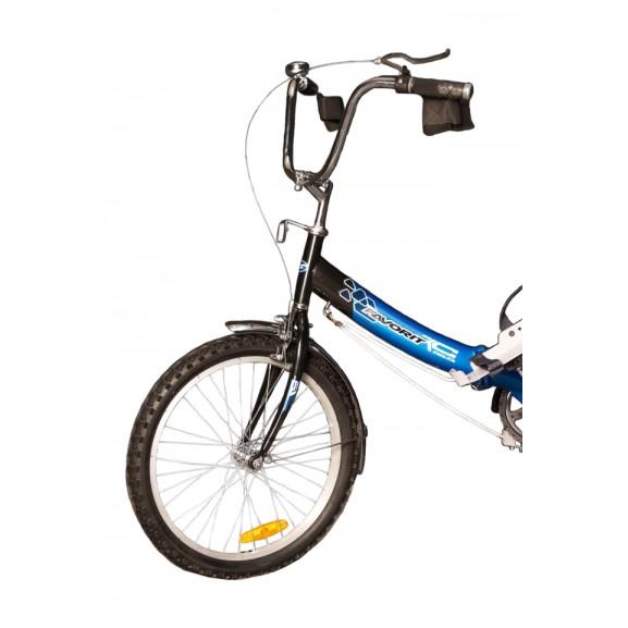 """Велосипед-тренажер для подростков с ДЦП ВелоЛидер 20"""" 020"""