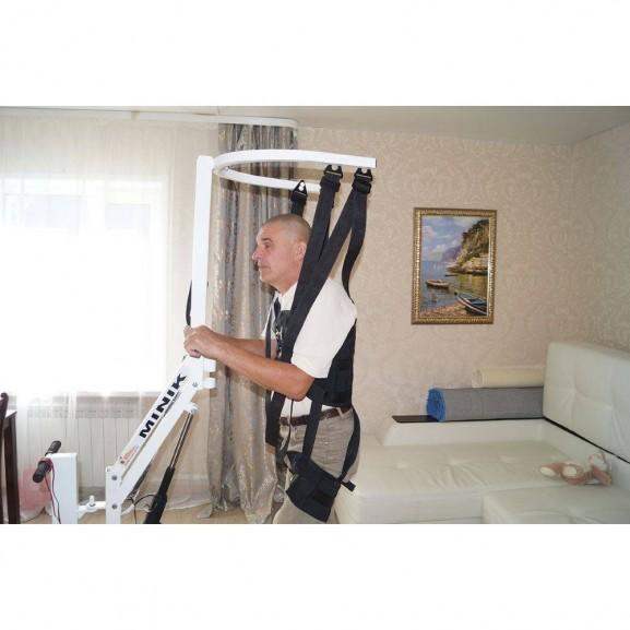 Вертикализатор-тренажер для ходьбы с электроприводом O-Savva Minik - фото №3