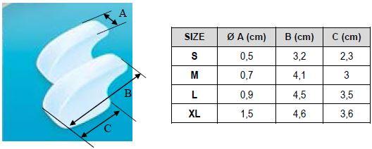 Межпальцевый разделитель Orliman Sofy-plant® gel GL-101