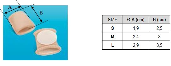 Защитная подушечка для пальца стопы Orliman Sofy-plant® gel GL-104Защитная подушечка для пальца стопы Orliman Sofy-plant® gel GL-104