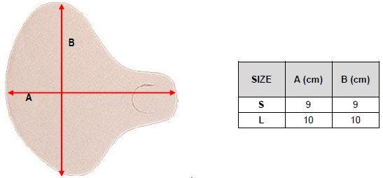 Защитная подушечка для стопы Orliman Sofy-plant® gel GL-200