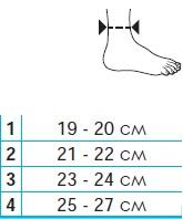 Лигаментарный голеностопный ортез с функциональными тяжами Thuasne Ligastrap 2180