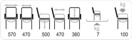 Технические характеристики стула-туалета для инвалидов Vermeiren 9062 с санитарным оснащением