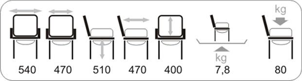 Технические характеристики кресла-стула Vermeiren 9042 с санитарным оснащением