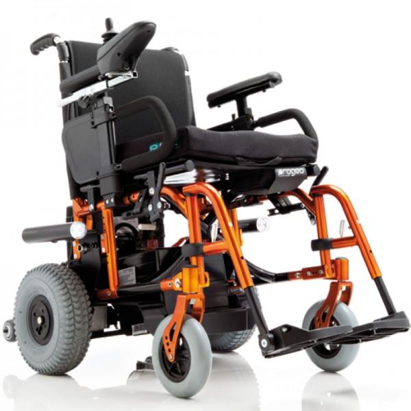 складная инвалидная коляска с электроприводом фото 2