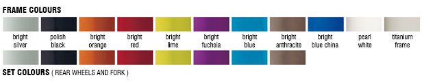 Возможные цвета