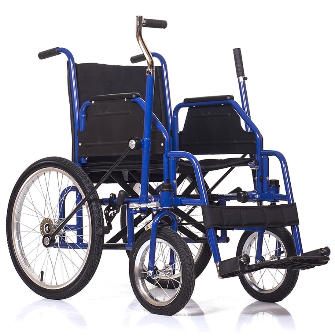 инвалидная рычажная коляска фото